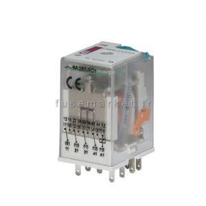 رله شیشه ای 4 کنتاکت ERM4 230V AC کد 2473010