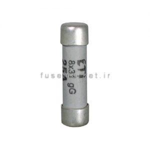 فیوز سیلندری 50A Gg 22 کد 2640019