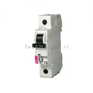 کلید مینیاتوری ETIMAT10 B 1P 10KA 6 A کد 2121712