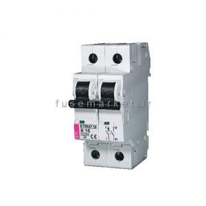 کلید مینیاتوری ETIMAT10 B 1P 6 KA 50A کد 2121721