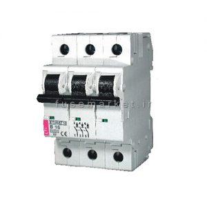 کلید مینیاتوری ETIMAT10 B 1P+N 6 KA 50A کد 2122721
