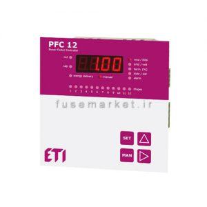 رگولاتور ای تی آی ETI خازنی 12 پله PFC 12 RC